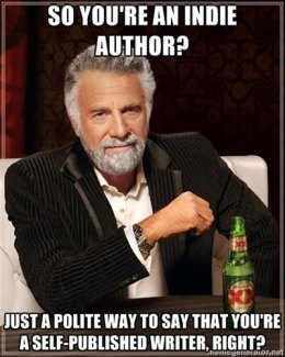 Note to all self-published authors: this attitude is changing! First stop TWUC, next stop, publishing world domination!!!