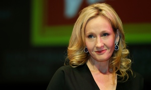 Memorable characters … JK Rowling, AKA Robert Galbraith.