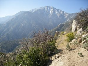 Mount San Jacinto-the inspiration for the fictional mountain in the story
