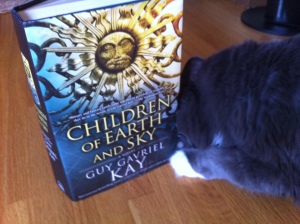 Smokey is diving right in to this delicious read