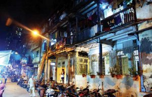 A picture (supposedly, I have no way of verifying this) of Kamathipura, Asia's second largest red light district and the setting of Fifteen Lanes